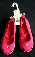 NWT BABY GAP BabyGap APPLE ARGYLE PINK SHOES 11 NEW