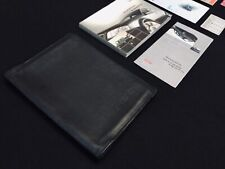 Original Audi Rs6 C5 Owners Manual Book Set with Leather Cover Wallet Rare