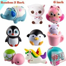 3 Pcs Jumbo Animal squishy Sweet Scented Vent Charms Slow Rising (Random)