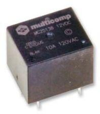 1 x relè, SPDT, 120VAC, 24VDC, 10A Multicomp MC25138 DA