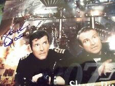 James Bond 007 SHANE RIMMER hand signed photo