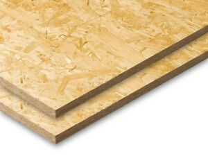 Certified Sustainable OSB3 Board Wood Standard Quality Sheets 18mm Thick 8ftx4ft