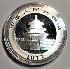 2013 1 oz Silver Chinese Panda BU (In Capsule)