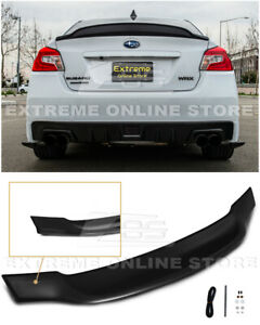 For 15-21 Subaru WRX STi High-Kick Duckbill Style Rear Trunk Lid Wing Spoiler