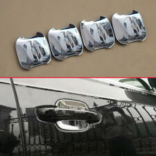 For Audi Q7 2016-2018 Chrome Door Handle Surrounds Protector Trims Accessories
