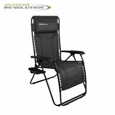 Outdoor Revolution Sorrento Camping Recliner Lounger Chair With FREE Side Table