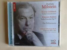 Goldmark, Brahms, Bach, Violin concertos, Ciaccona 1004, Milstein, Praga SACD