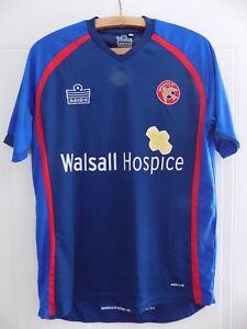 WALSALL FC Football Shirt HOME 2010/2011 Jersey Maglia Camiseta Trikot Retro Top