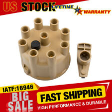 Distributor Cap and Rotor Kit with Brass Inserts for Dodge B150 B250 B350 D150