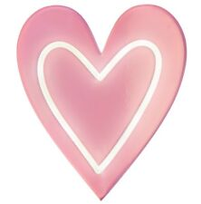 NEON PINK HEART LIGHT SIGN WALL DECOR CARNIVAL FLUORESCENT TUBE LAMP HOME GIRLS