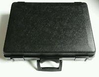 Werkzeugkoffer, Kunststoff-Koffer, Plastikkoffer Schwarz, leer. Neu !