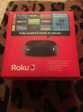 Roku 3  4200 X Digital HD Media Streamer.. No Headphones !