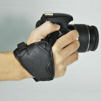 DSLR Cameras Leather Hand Grip Wrist Strap For Nikons Canon Pentax Sony Oly V0Y3