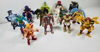 Mighty Morphin Power Rangers Evil Space Aliens 1994 BANDAI - Lot of 13 Figures