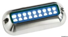 Underwater LED Light - BLUE - Stainless Steel - Waterproof - Boat Marine UWLEDB