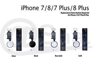 BLACK - 2019 Update 3rd Generation JC Universal Home Button For iPhone 7/8/7+/8+