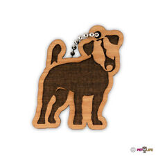 Jack Russell Terrier Keychain key chain keys charm jrt parson