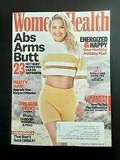 New Women's Health Magazine Abs Arms Butt & Kate Hudson Eating Tips