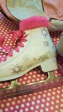 New listing Girls Pretty Winter Fur Ice Skates