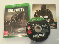 PAL XBOX ONE GAME CALL OF DUTY ADVANCED WARFARE COMPLETE DISC IS GOOD CONDITION