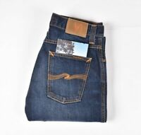 26918 Nudie Jeans Bleu Hommes Straight Fit Jean Taille 30/30