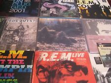 R.E.M. MFSL MURMUR SET - DOCUMENT - LIVE BOXES - ACCELERATE - 45's - 34 LP SET
