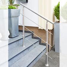 Treppengeländer Edelstahl Handlauf Geländer Balkongeländer Aufmontage Treppe