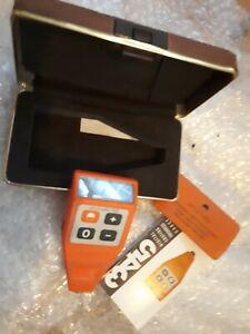 Elcometer 345 Digital Coating Thickness Gauge Inspection