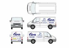 PERSONALISED BUSINESS NAME GRAPHIC DESIGN SERVICE FOR Car Van Shop Sign Stickers