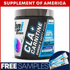 "BPI CLA + CARNITINE Popular Non-Stim Weight Loss ""FREE SHIPPING"" ""2 SIZES"""