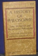 B0007HEXOA A history of philosophy: Part 1, volume 3, late medieval and Renaiss
