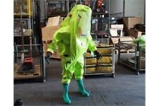 Respirex Tychem TK Chemical Gas-Tight Hazmat Suit Type 1A Overalls Size Large