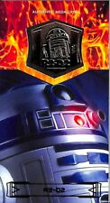 2015 Star Wars 3D Widevision Revenge of the Sith Bronze Medallion R2D2  04/60