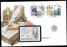 Schweden MH 100 FDC Internationale Briefmarkenausstellung STOCKHOLMIA