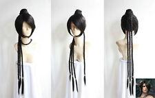 Final Fantasy Lulu Cosplay Wig Animation Cos Wig Hair 14