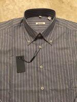 NWT Balmain Mens Long Sleeve Button Front Shirt Size Small