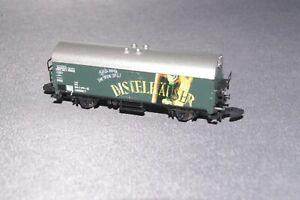 MARKLIN GERMAN REFRIGERATED BEER BOX WAGON  - Z Gauge
