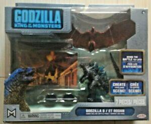 GODZILLA KING OF THE MONSTERS Godzilla & ET Rodan Kings Collide Battle Pack NEW