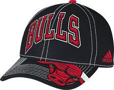 a2a9b0119c8a9 Chicago Bulls Bill Logo Structured Adjustable Hat NBA Adidas Official Cap