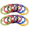 MTB XC Single Narrow Wide Oval Chainring Chain Ring BCD 104mm 32 34 36 38 40 42T