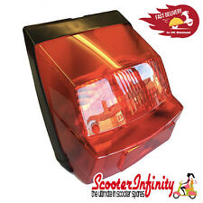 Rear Light Unit (Vespa P80-150X /PX80-200E/P150S/P200E) (Without Bulbs)