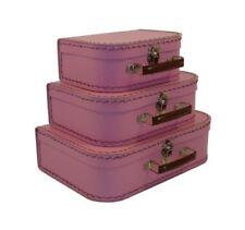 3d8ed997dd59 Vintage Pink Suitcase for sale | eBay