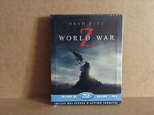 World War Z - steelbook (Blu-ray 3D + Blu-ray + DVD - Director's cut) BRAND NEW