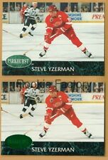 1992-93 PARKHURST & EMERALD ICE PROMO #44 STEVE YZERMAN | LOT x2 | Red Wings