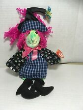 Ty * Scary* Witch Beanie Baby With Tags Preowned