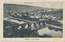AK Bingen-Drususbrücke-Feldpost 1.WK (i637)