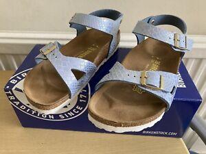 BIRKENSTOCK Blue Sandals Size36 Excellent Condition