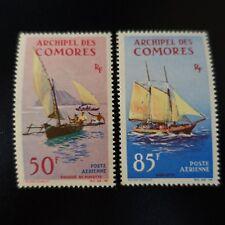 FRANCE COLONIE COMORES POSTE AÉRIENNE PA N°10/11 NEUF SANS GOMME