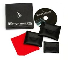 More details for deluxe nest of wallets magic trick