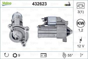 Valeo Starter Motor 432623 fits Citroen BX 1.4, 1.4 E
